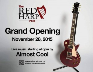 Red Harp Grand Opening